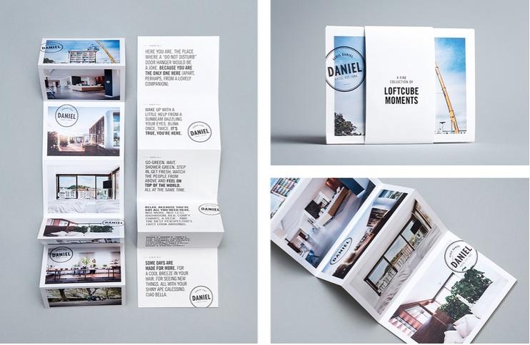 loftcube mailing design