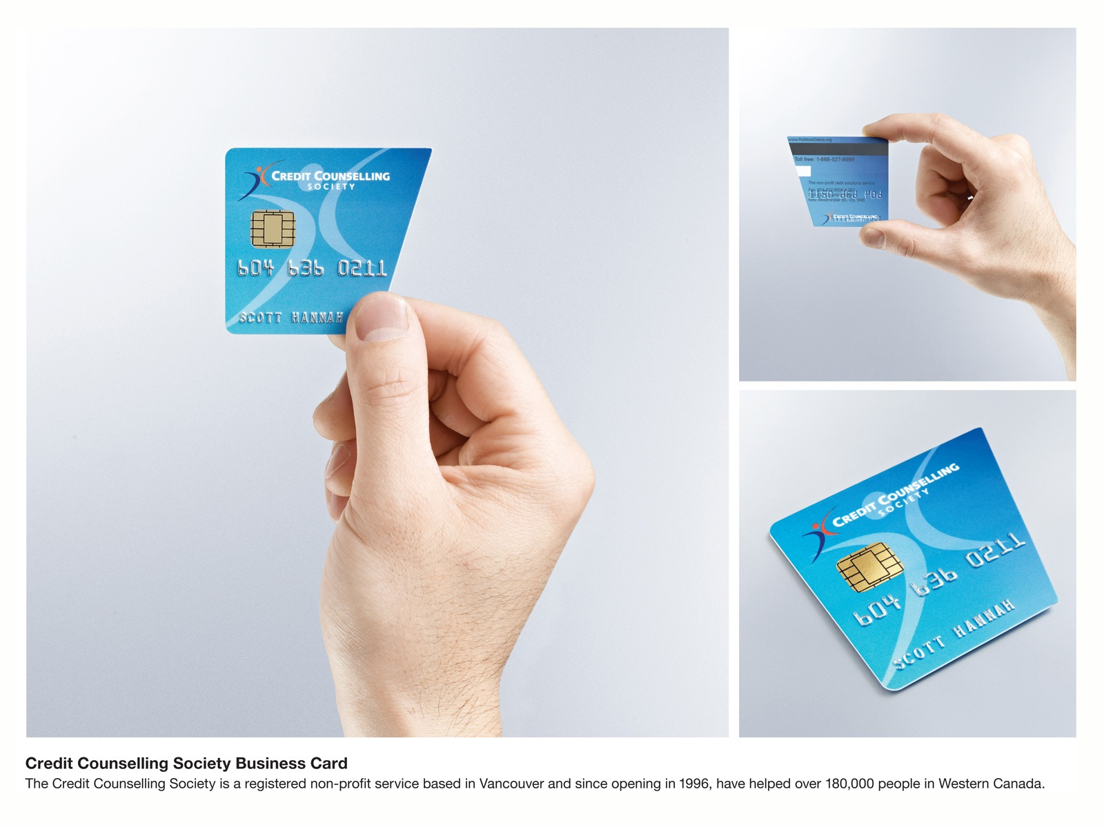 credit counseling business card