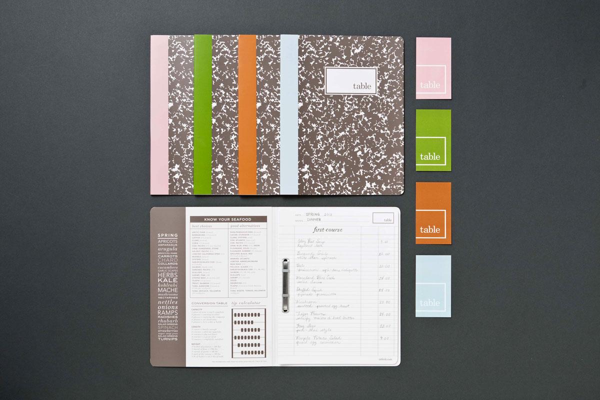 Table Restaurant Menus - PaperSpecs