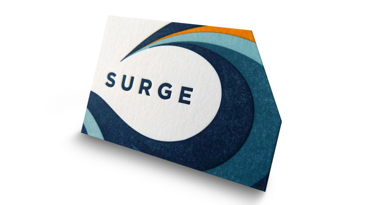 Surge Ventures Business Cards - PaperSpecs