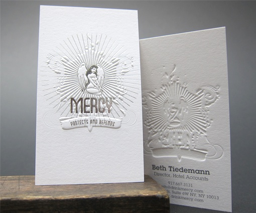 mercy business card