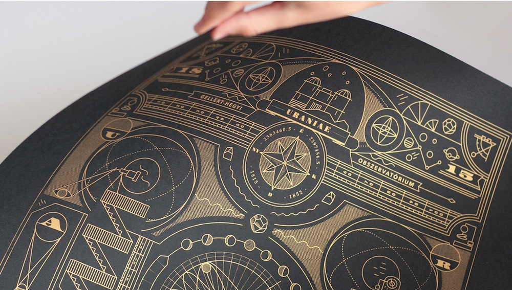 observatory collateral design