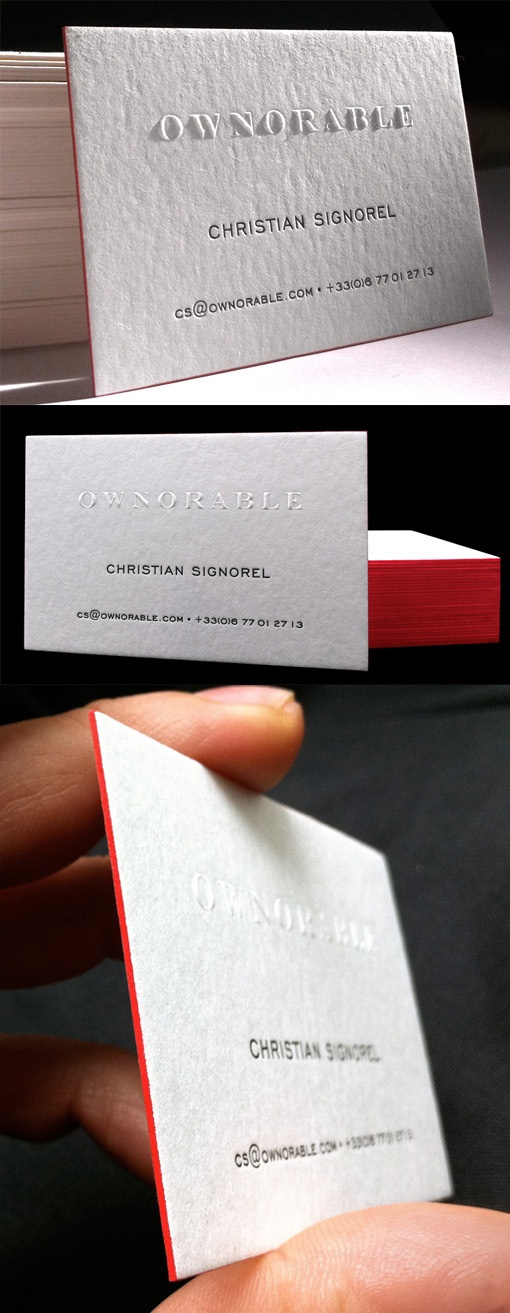 ownorable business card