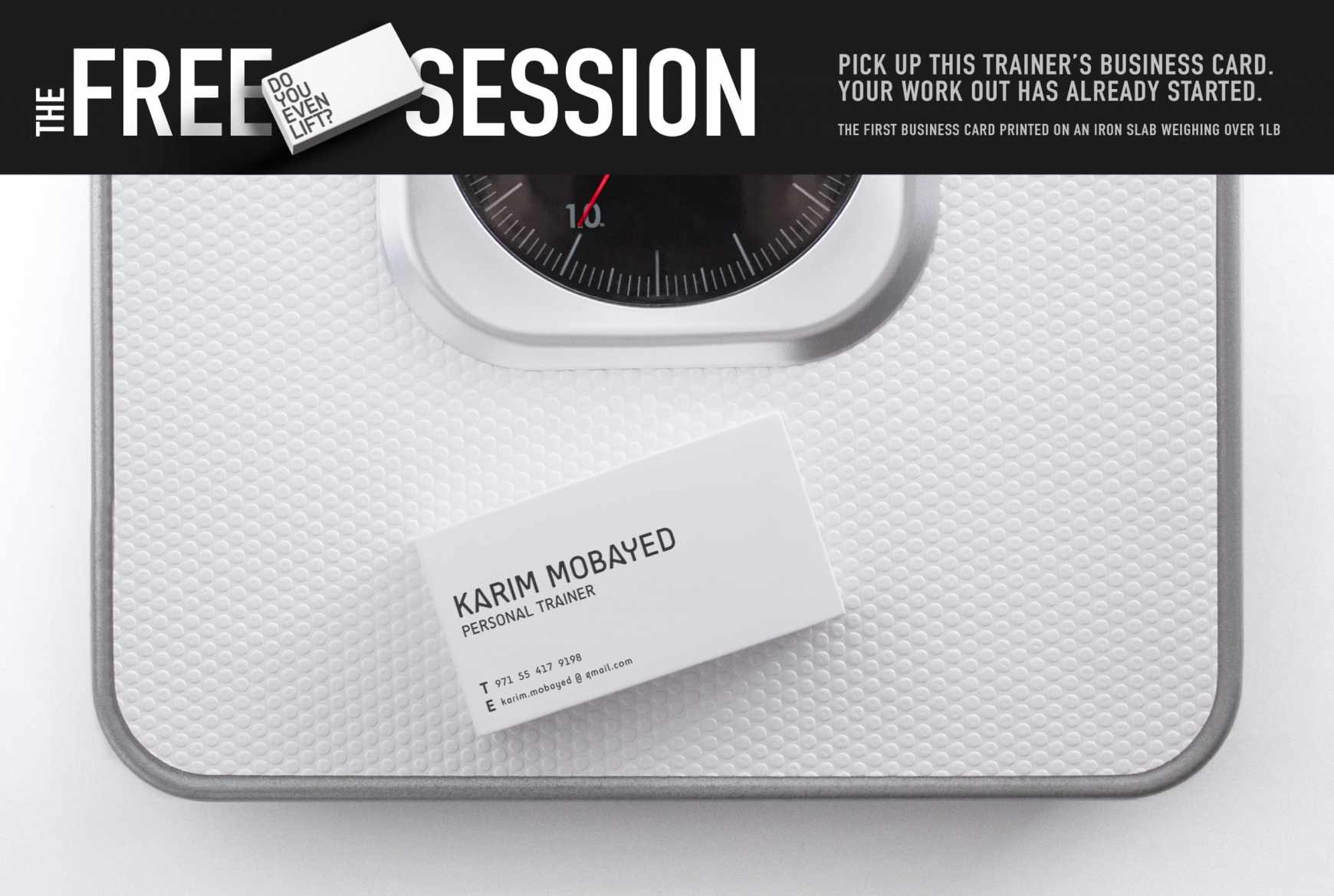 Business cards of the week paperspecs personal trainer business card colourmoves