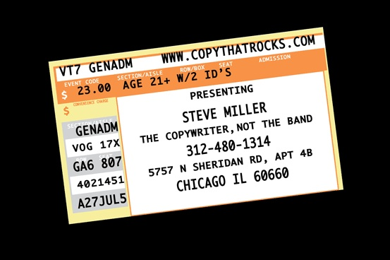 steve miller business card