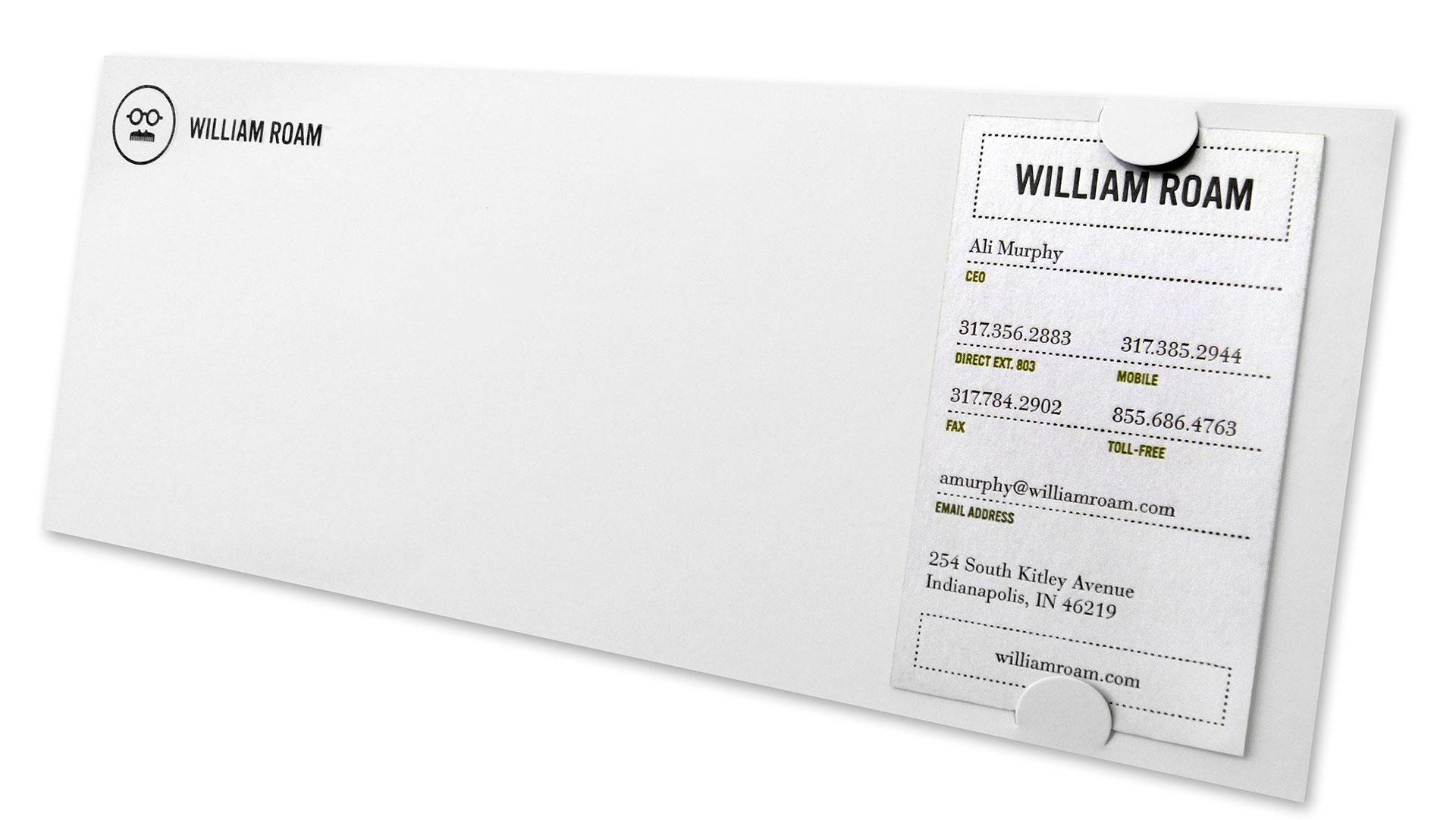william roam stationery