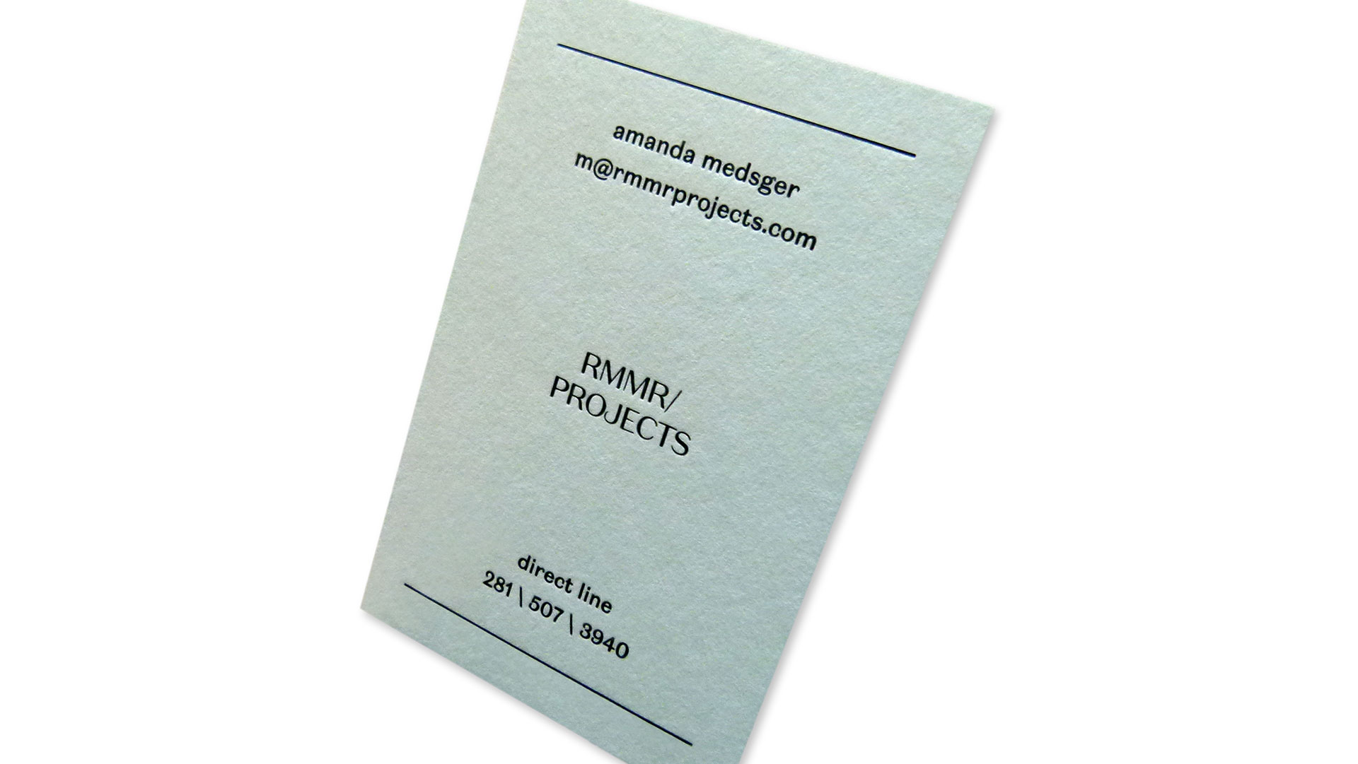 rmmr business cards