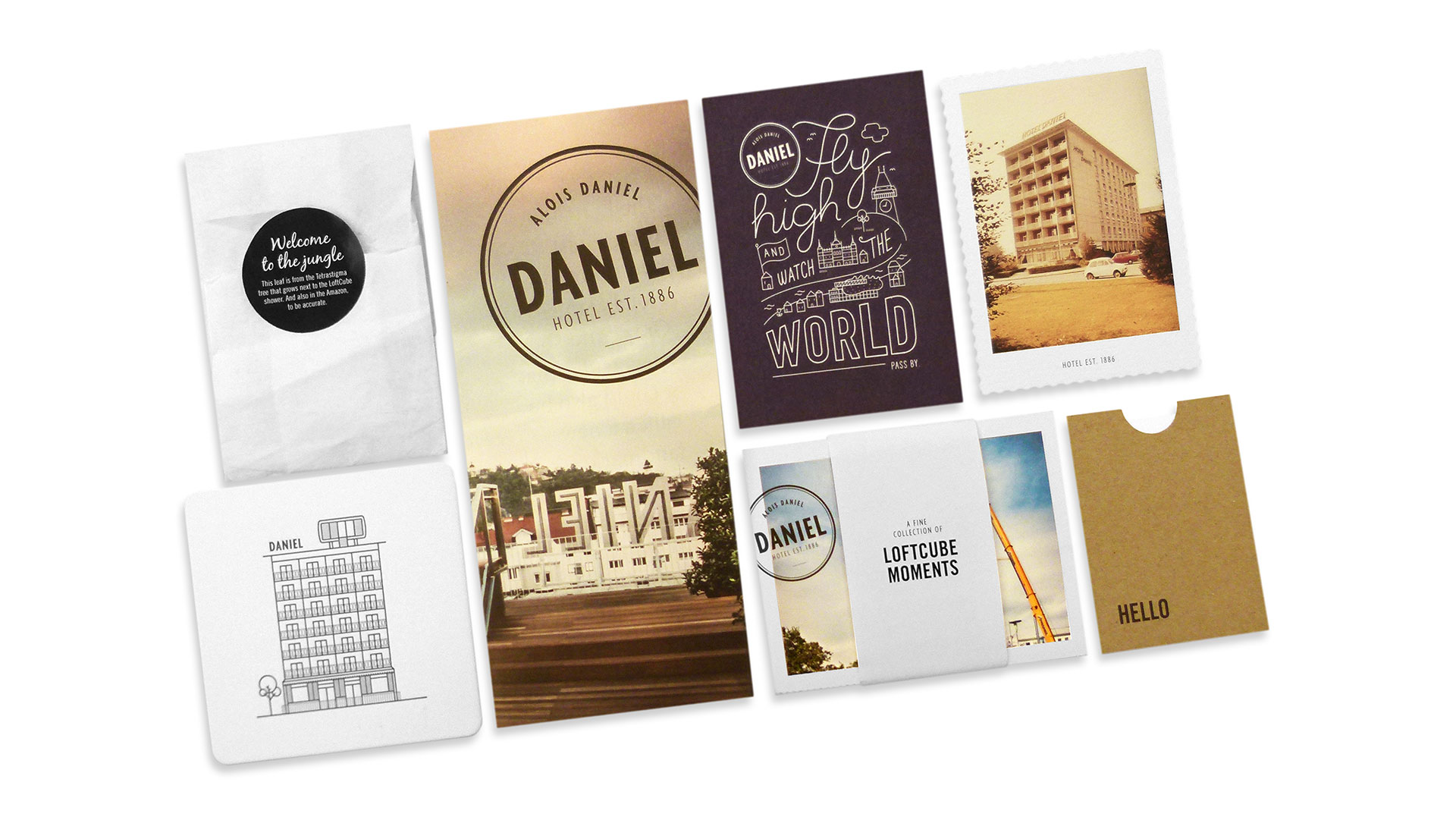 Hotel Daniel LoftCube Mailing - PaperSpecs