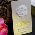 elly beamer business card