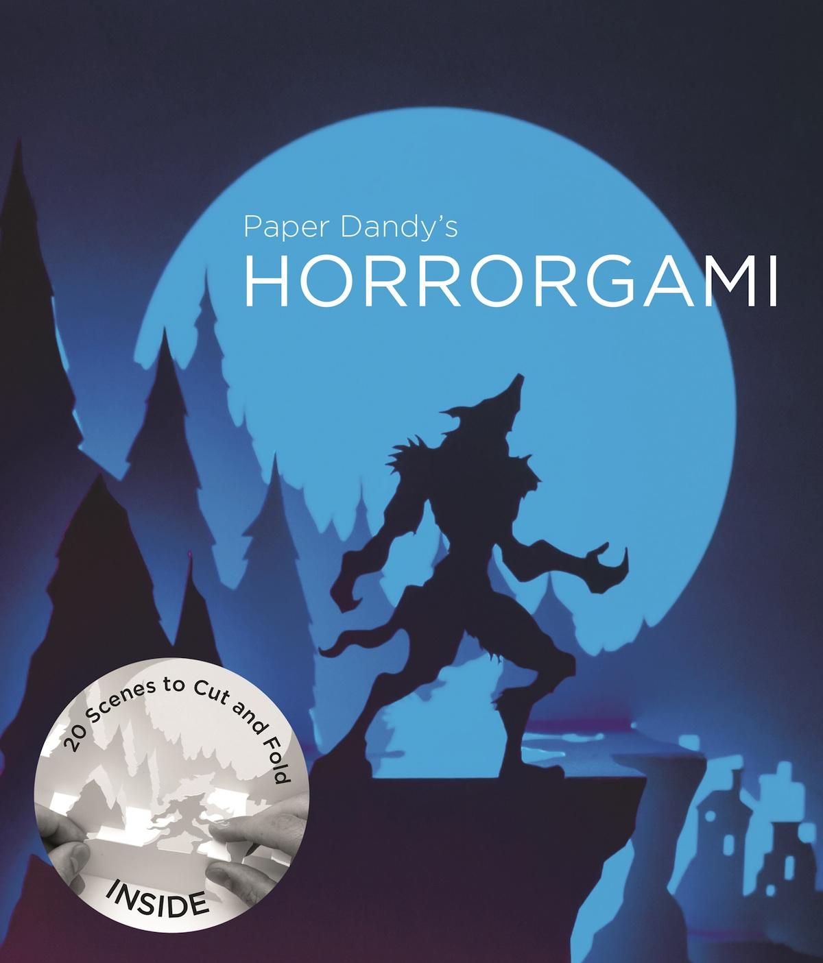 horrorgami book design