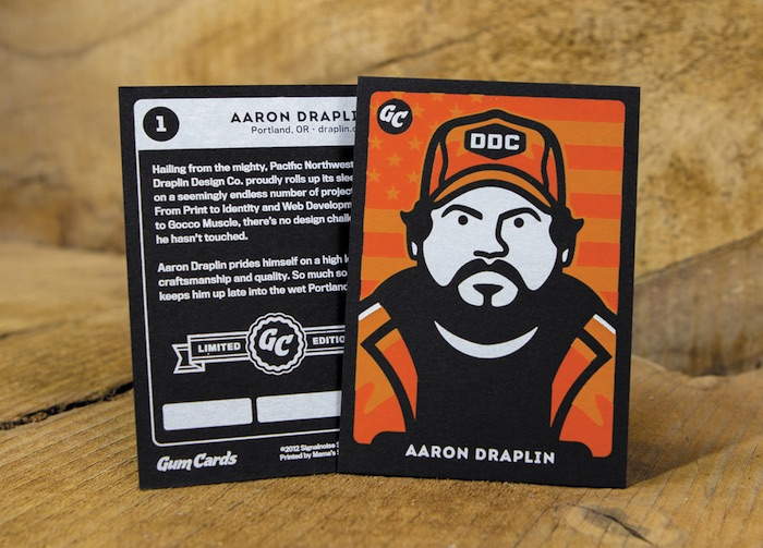 aaron draplin card design