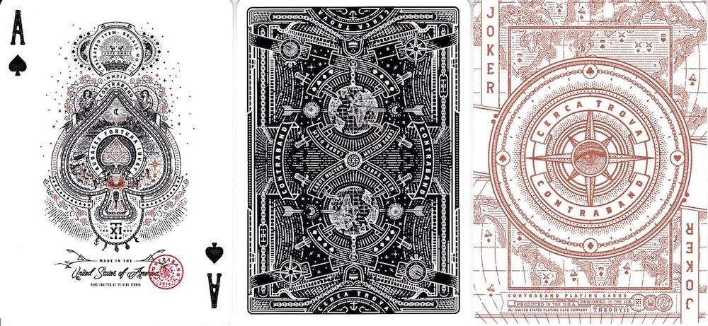 contraband card design