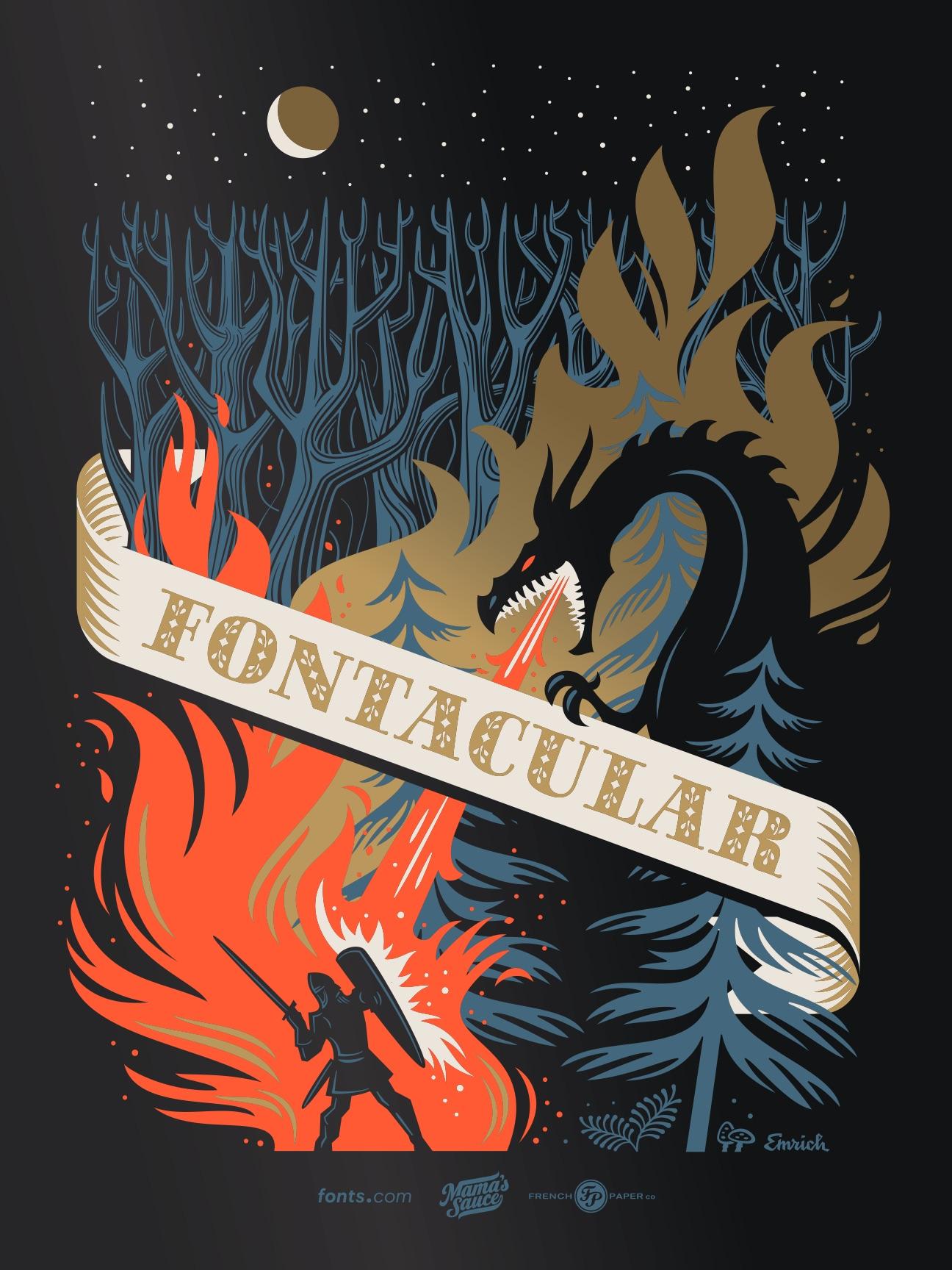 fontacular poster design