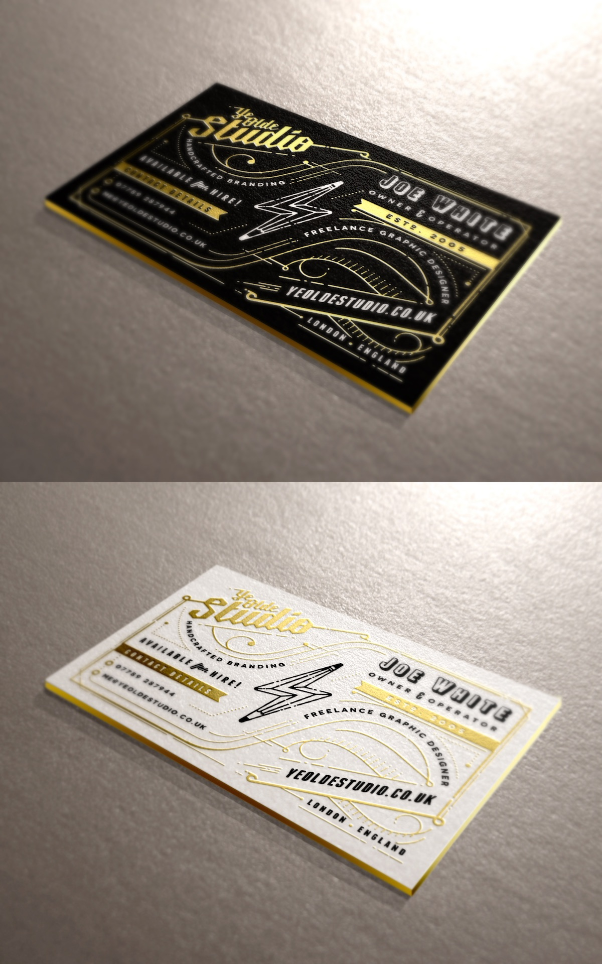business cards of the week paperspecs