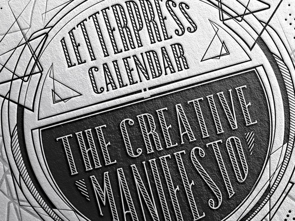 mr cup calendar design