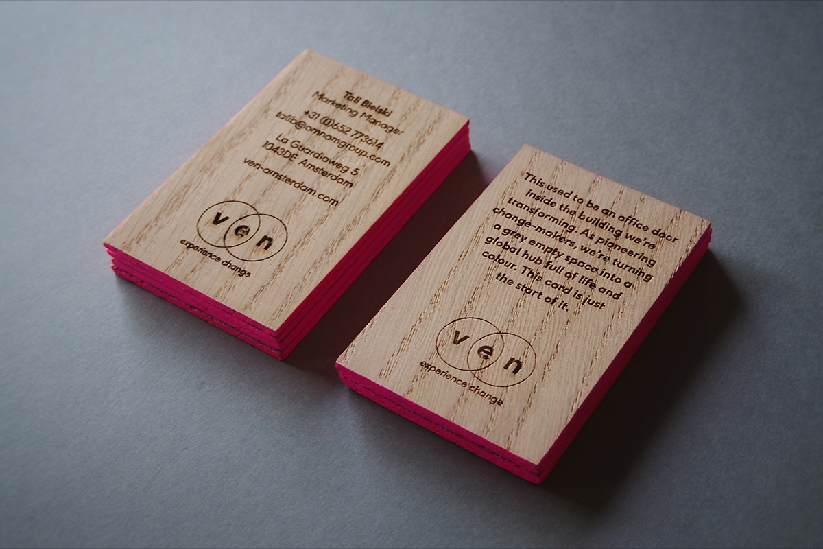 ven amsterdam business card