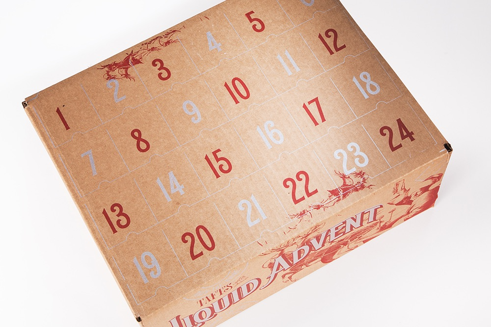 beer advent calendar design