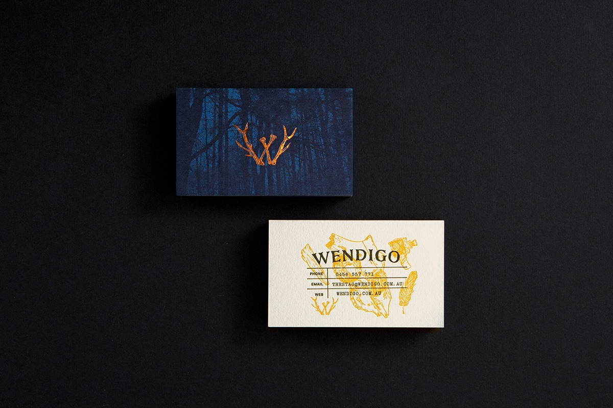 Business cards of the week paperspecs wendigo business card colourmoves