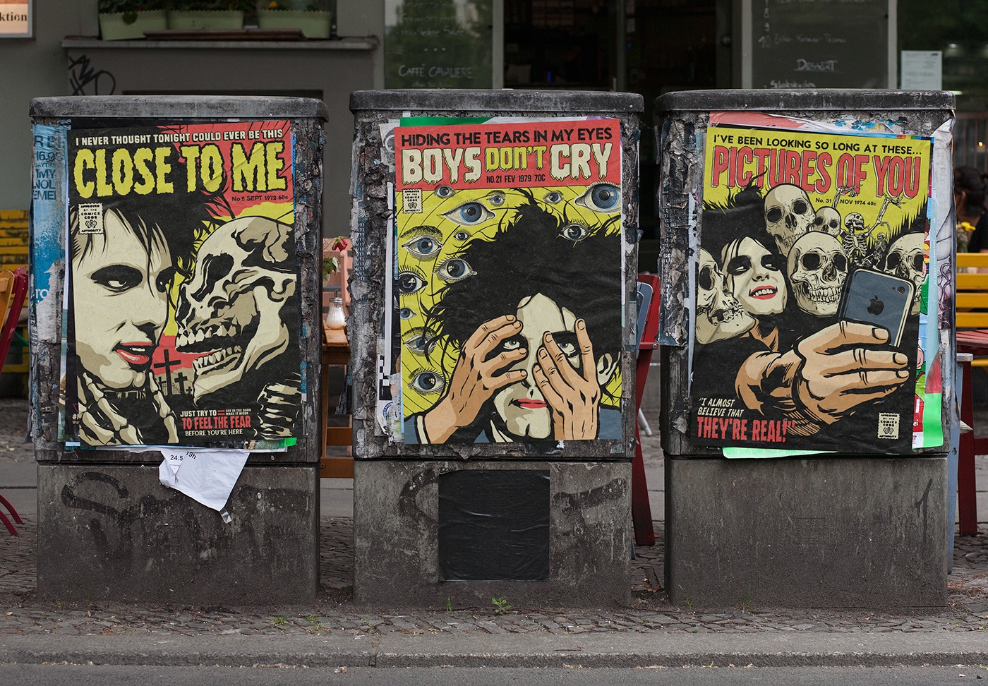 cure street art design