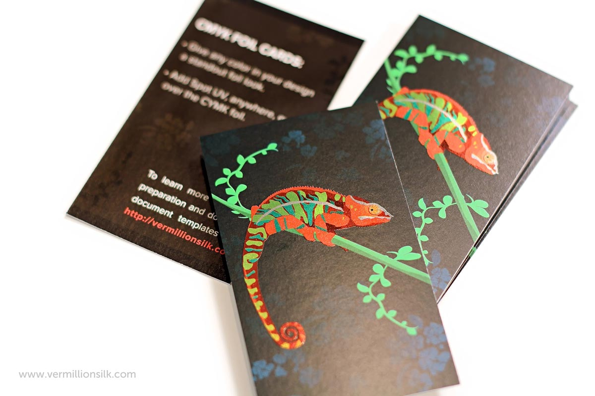 multifoil business card