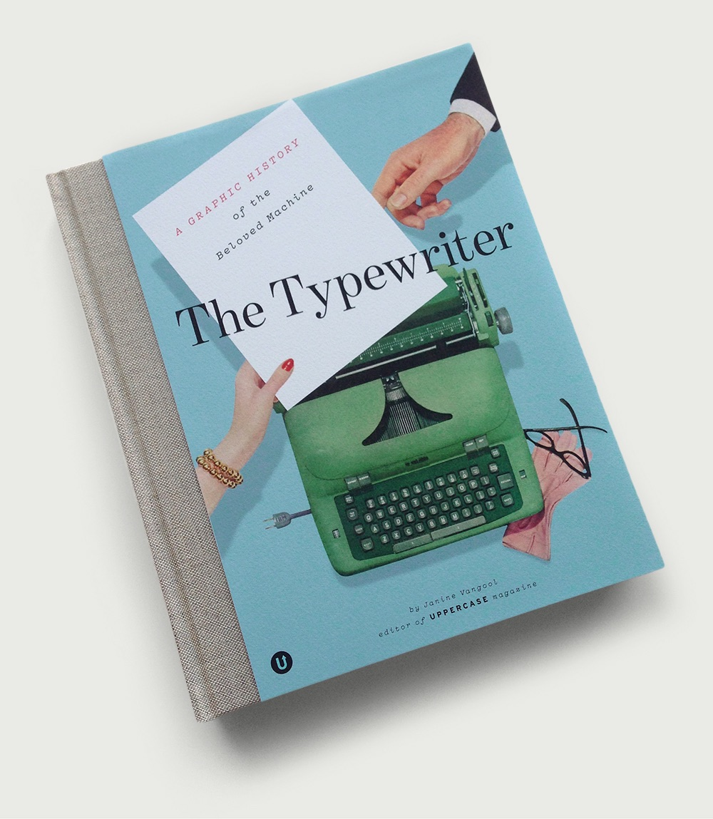 typewriter book design