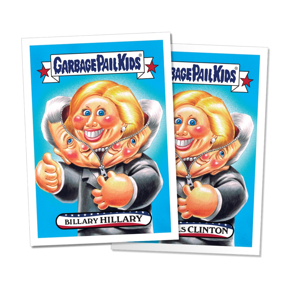 garbage pail kids design