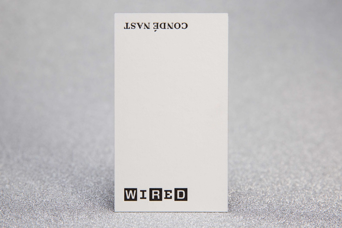 wired business card
