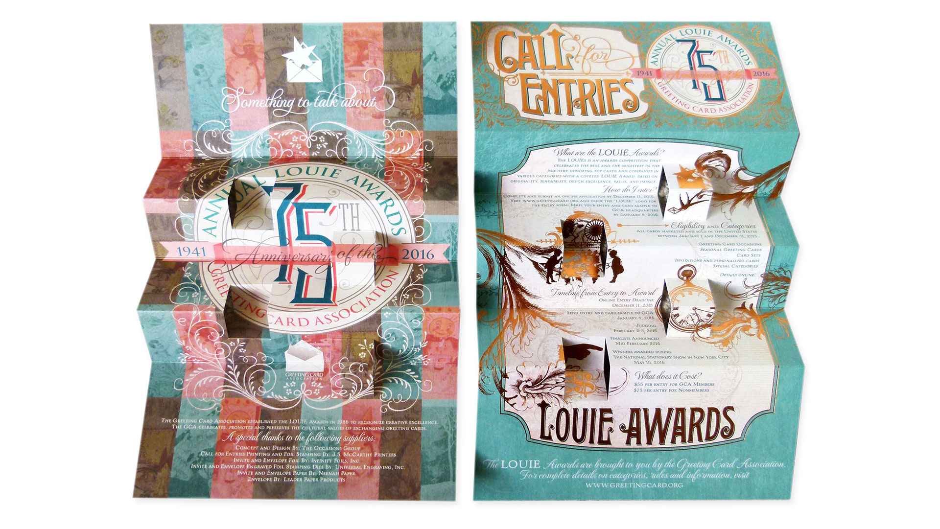 Louie Awards Call for Entries - PaperSpecs