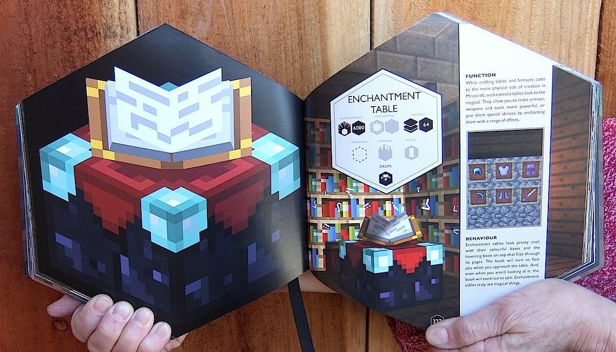 minecraft blockopedia book