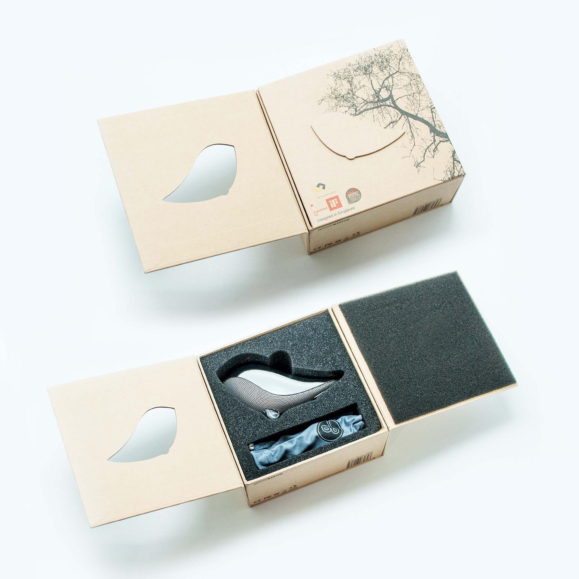 Wrenz Portable Speaker Packaging - PaperSpecs