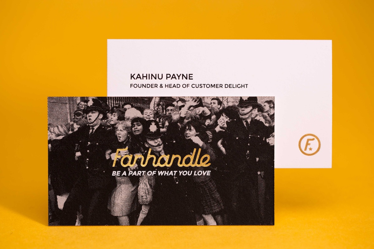 fanhandle business card