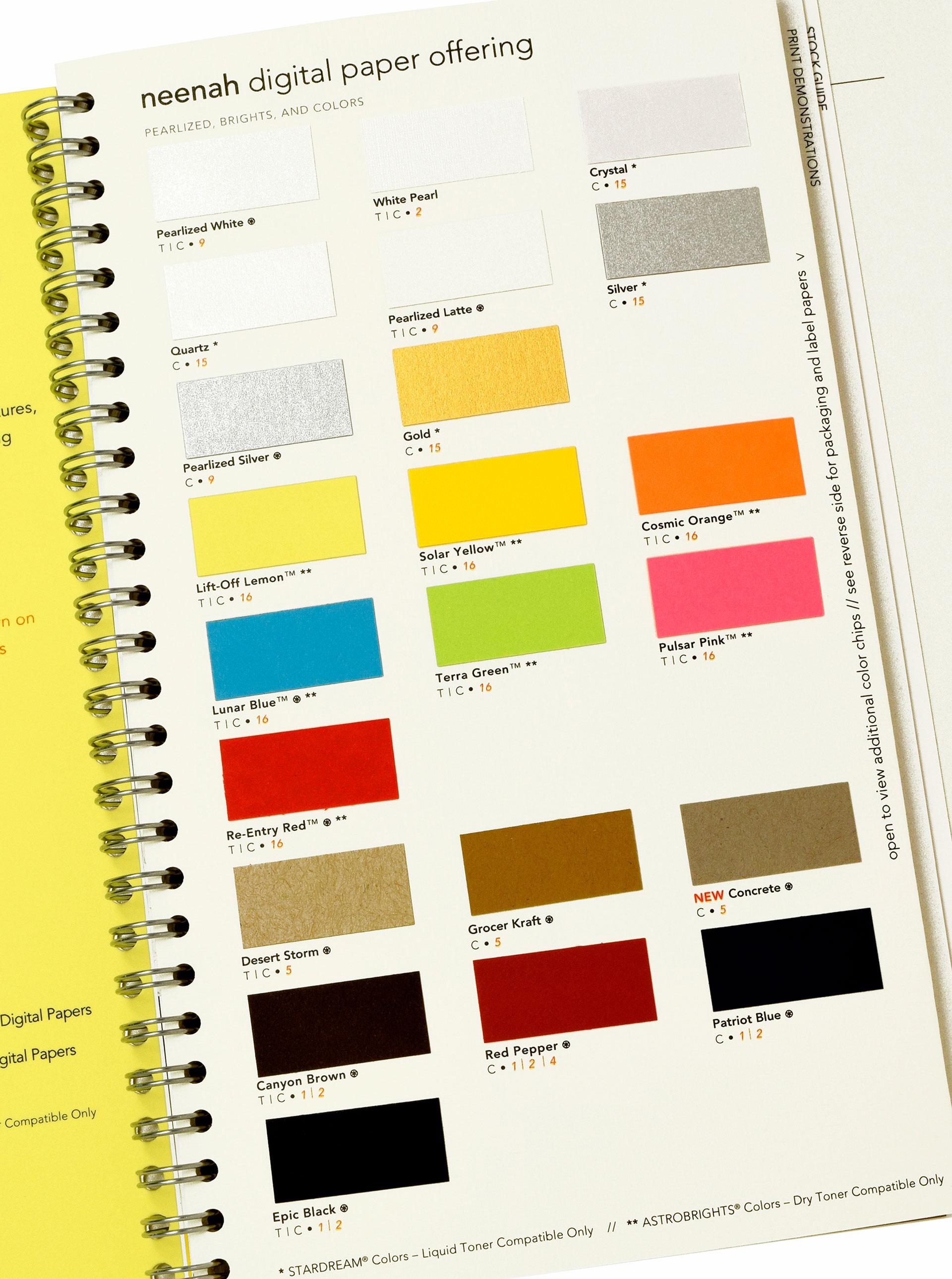 Neenah Paper Colors