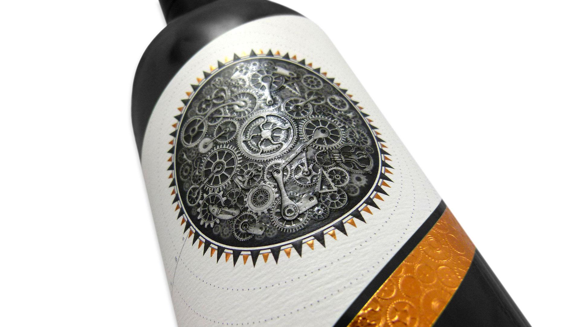 Precision Wine Label