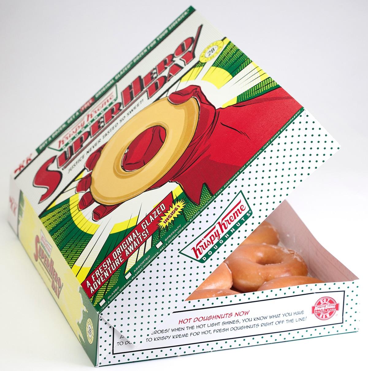 doughnut packaging