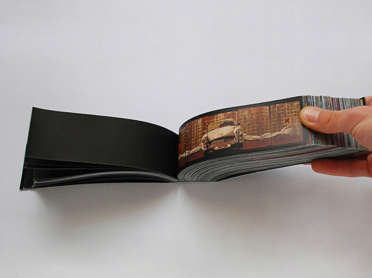 graffiti book packaging