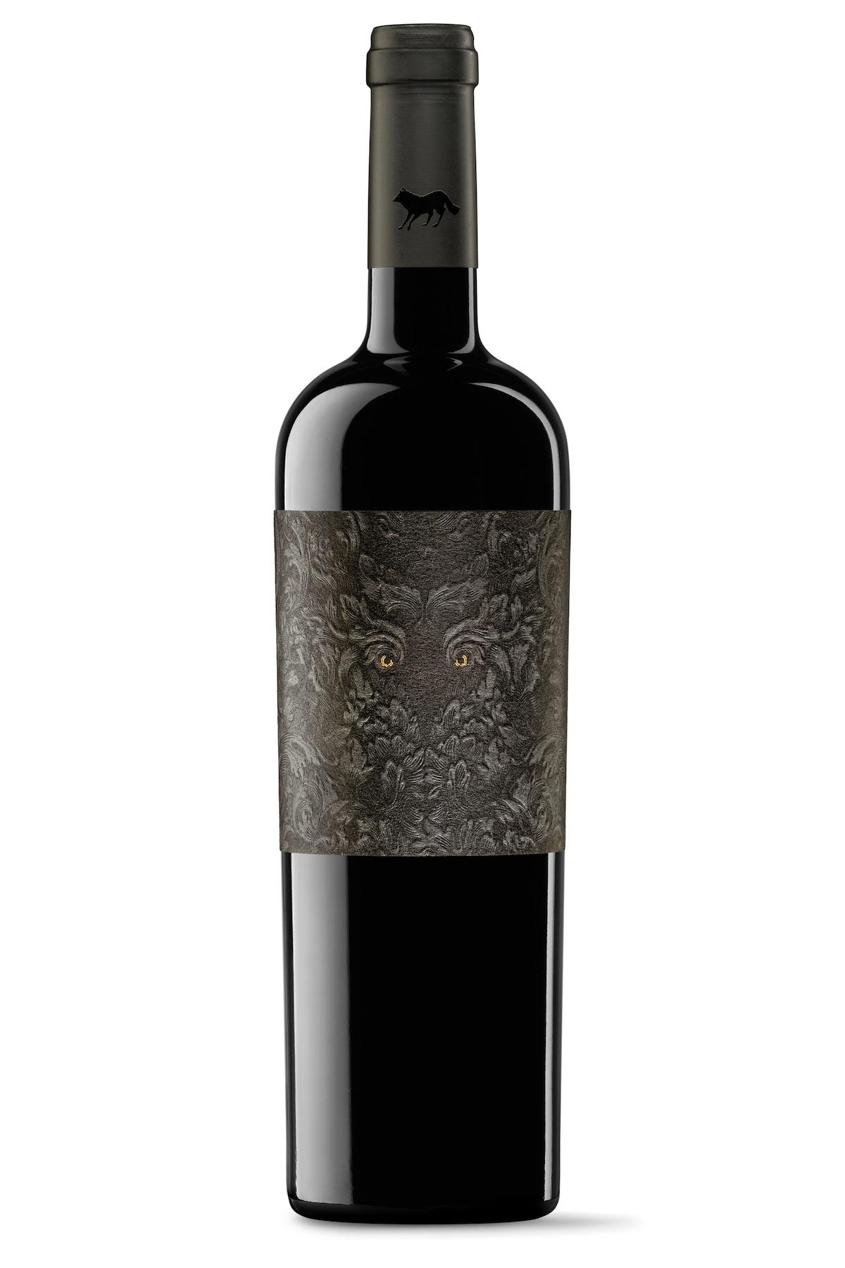 the villain wine label
