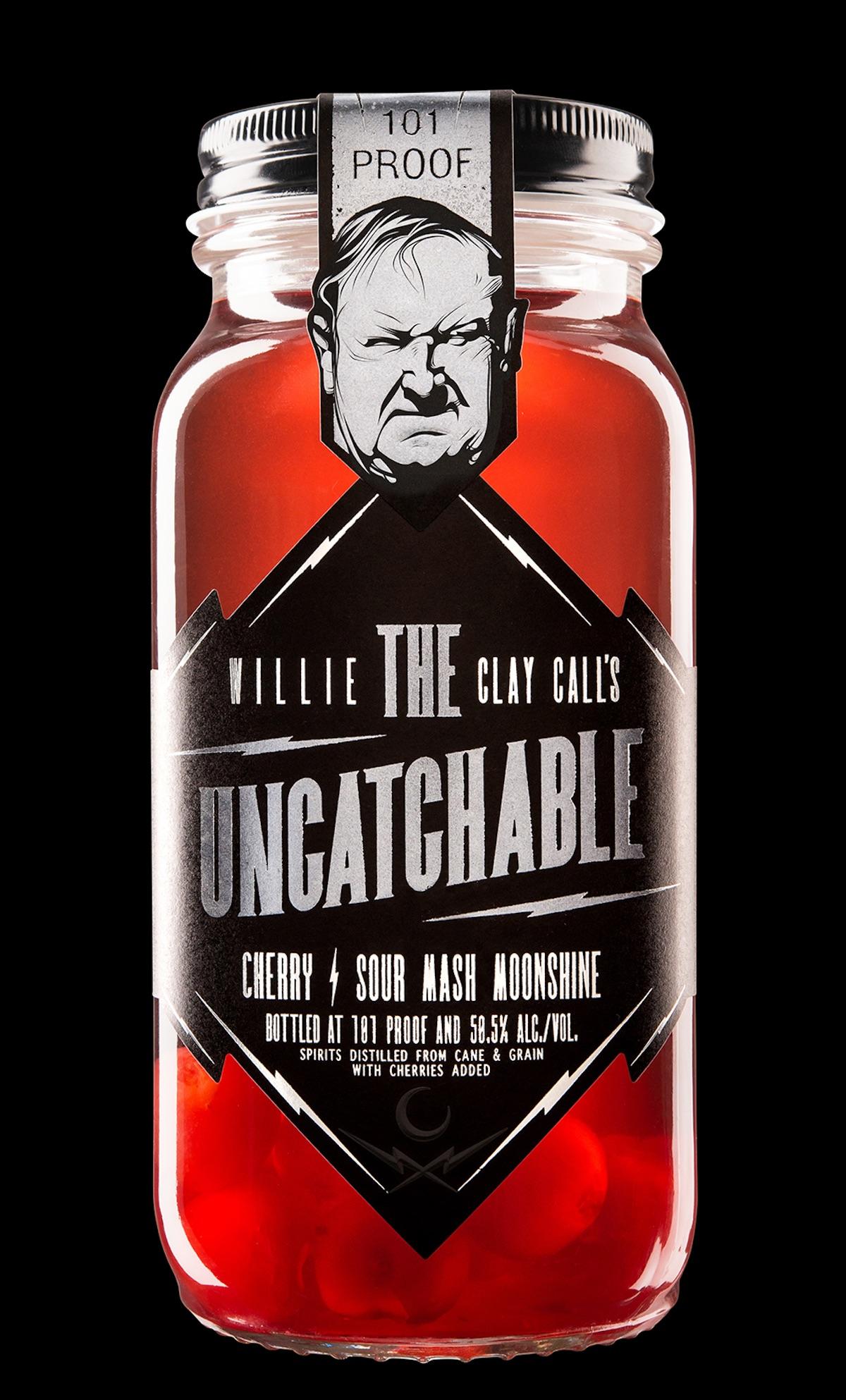 uncatchable moonshine label