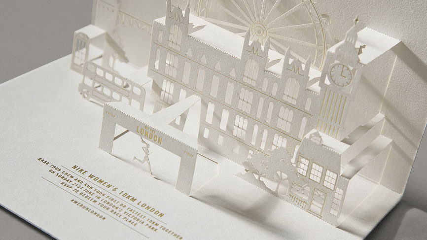 Nikirigami Pop-Up Invitation - PaperSpecs