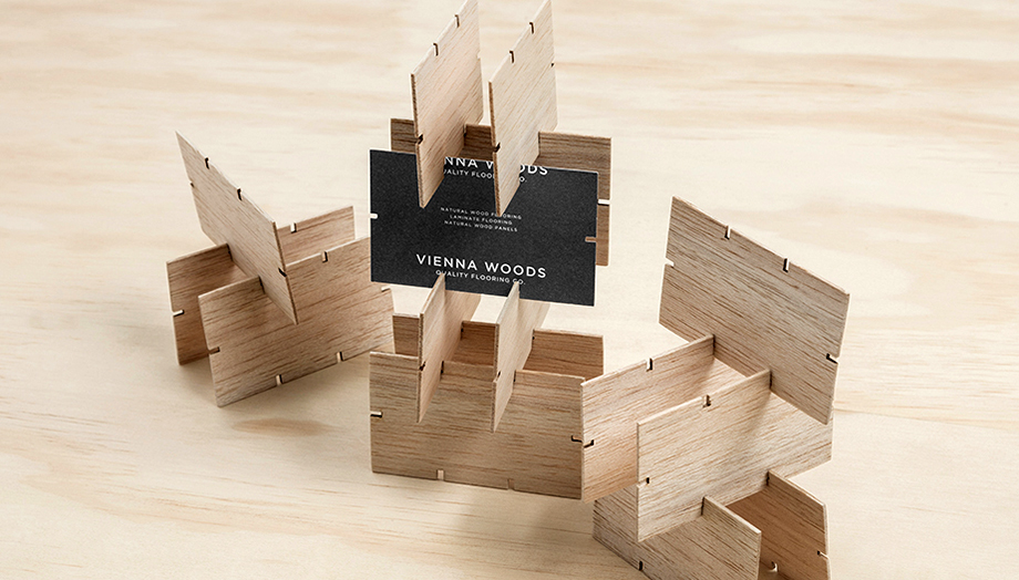 Vienna Woods Business Card - PaperSpecs