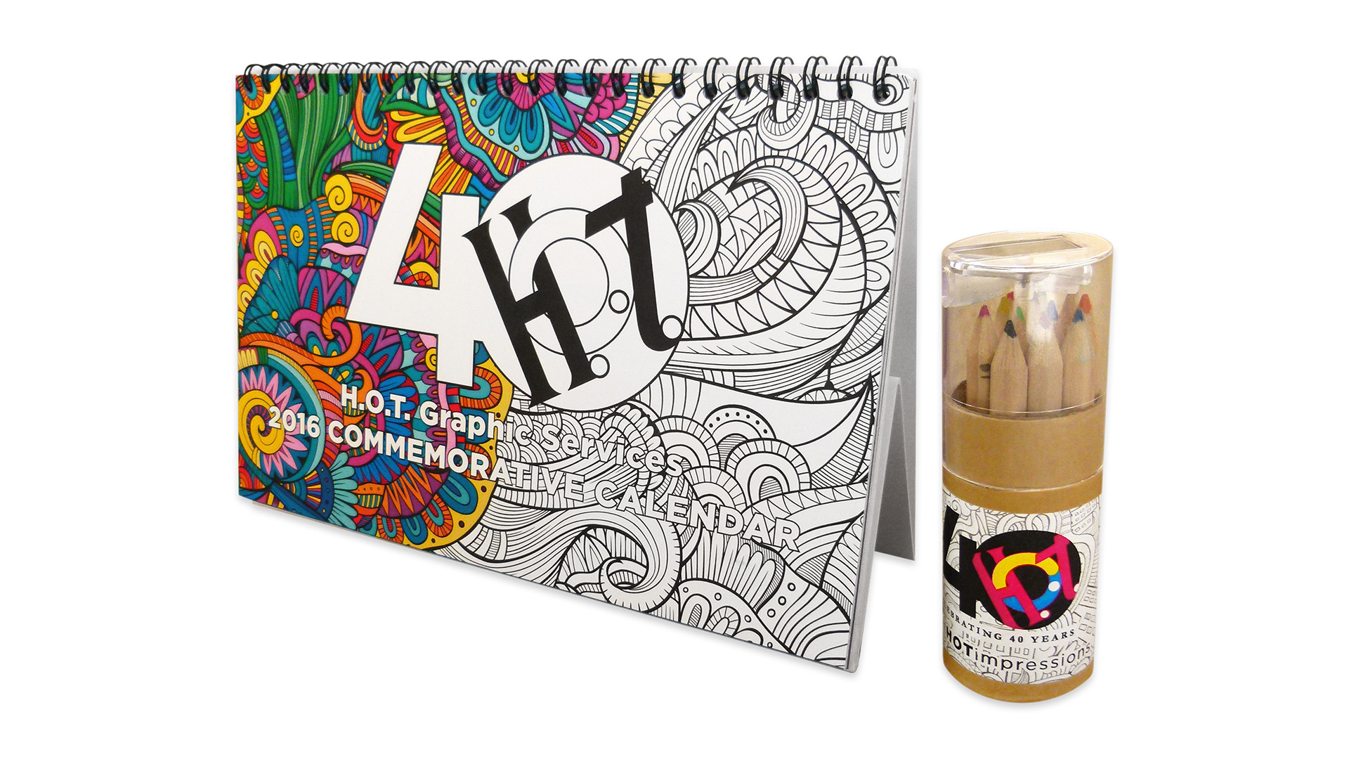 H.O.T. Commemorative 40th Anniversary Calendar - PaperSpecs