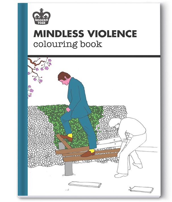 mindless violence coloring book2