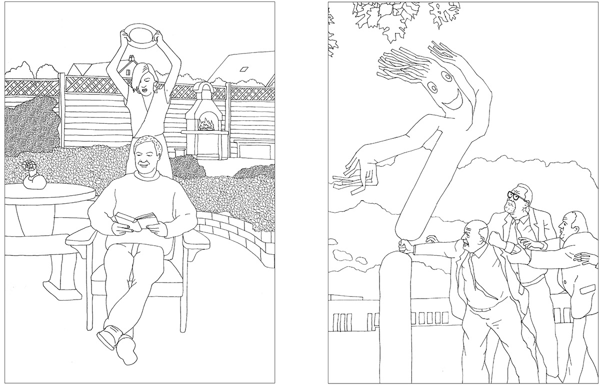 Mindless Violence Coloring Book