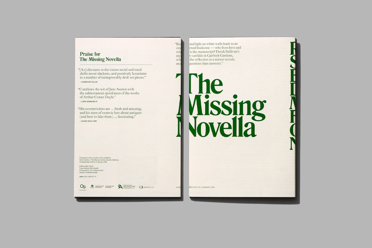 missing novella design