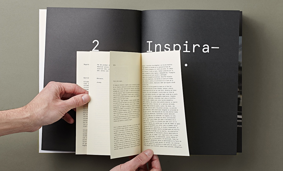 travel book design