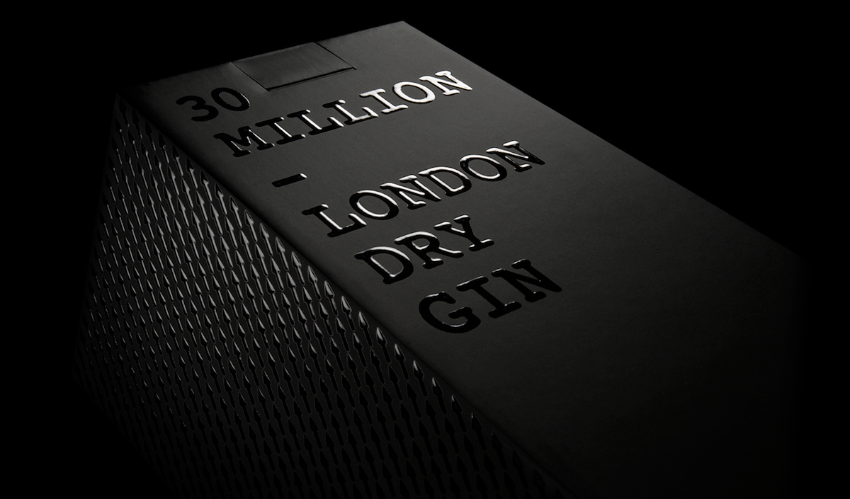 30 million gin packaging
