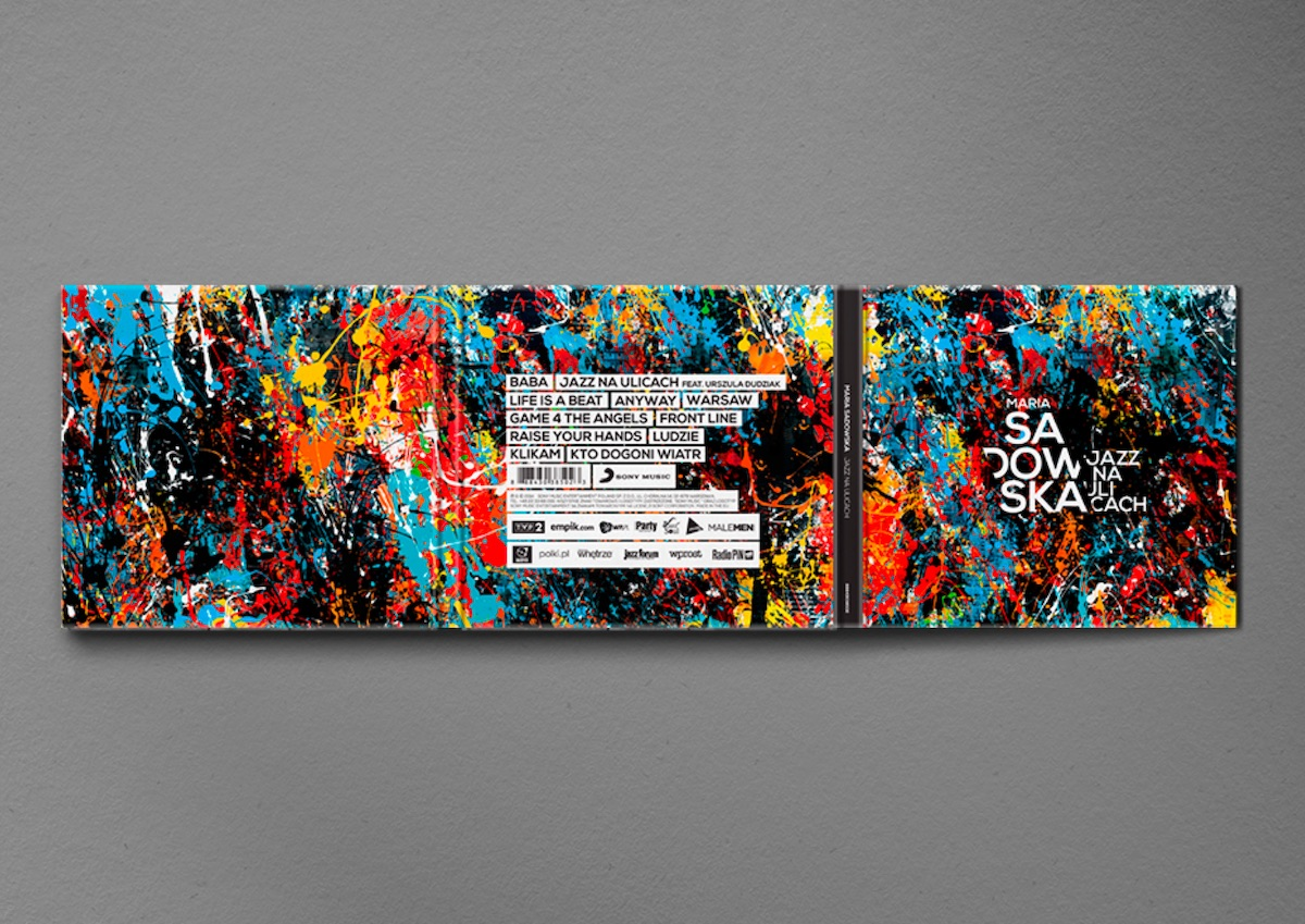 Maria Sadowska cd packaging