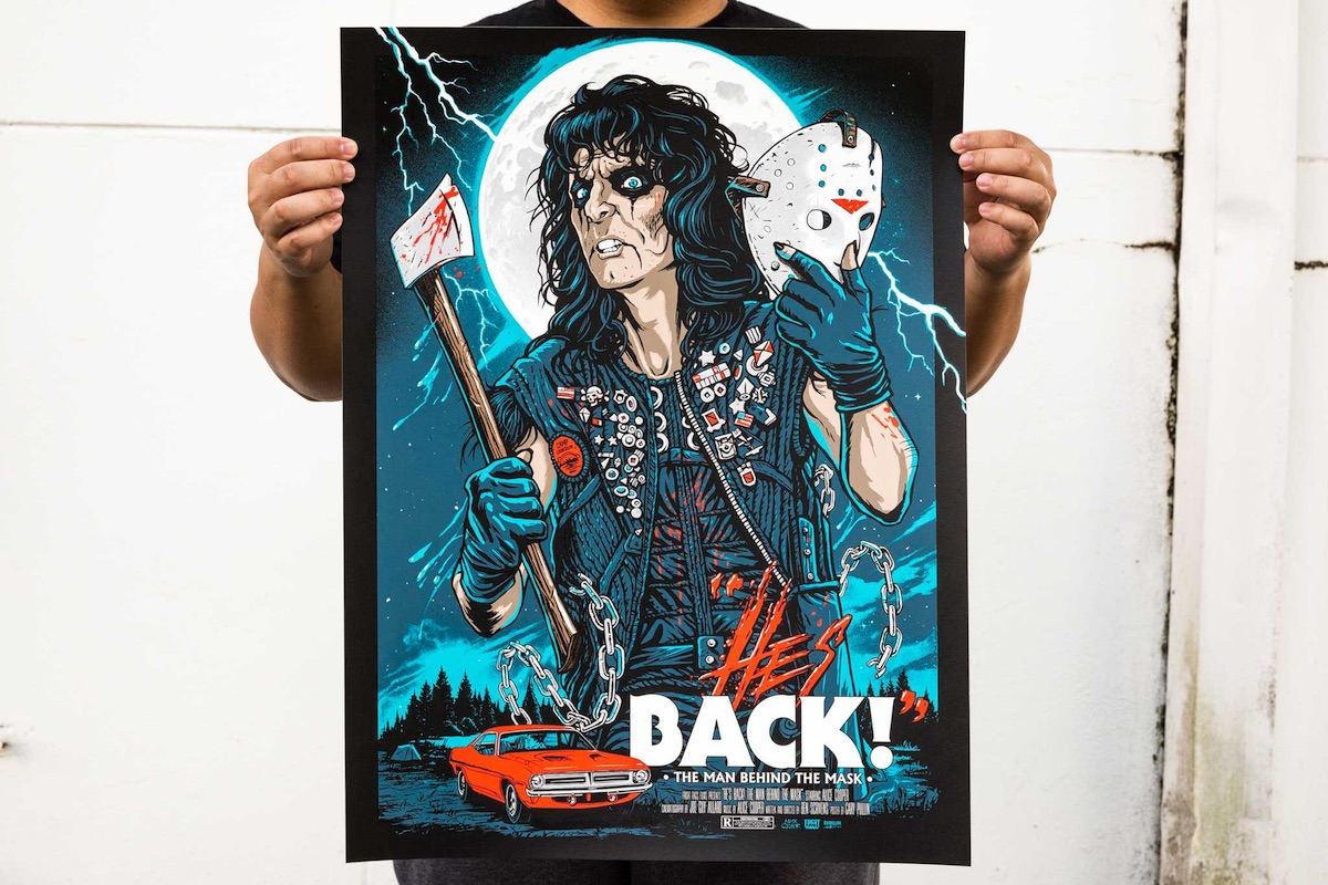Cool Design Alice Cooper Print Paperspecs