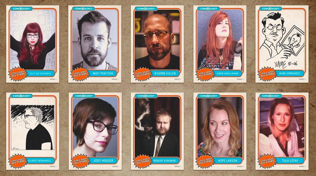 comic book all stars cards