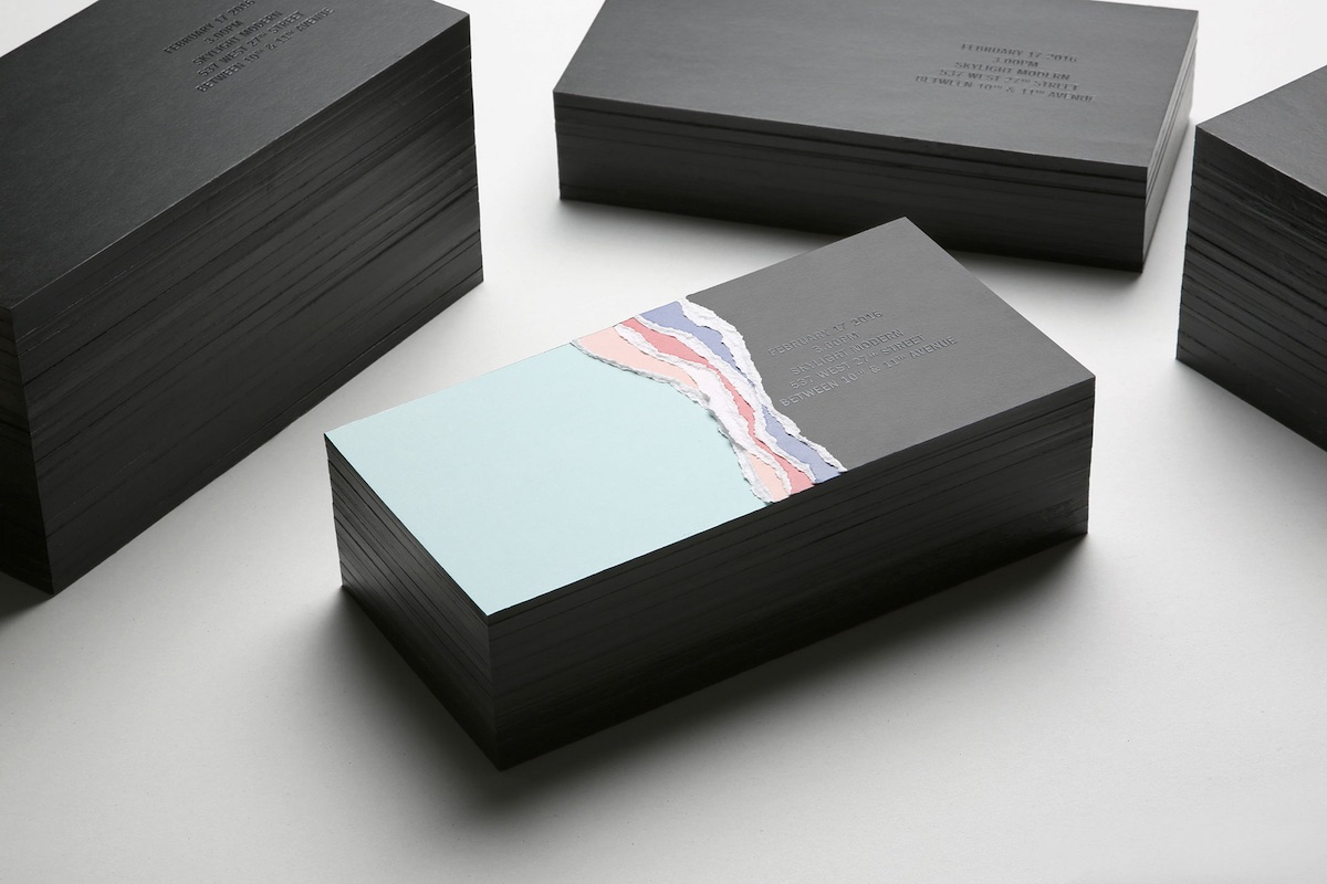 dkny invitation design