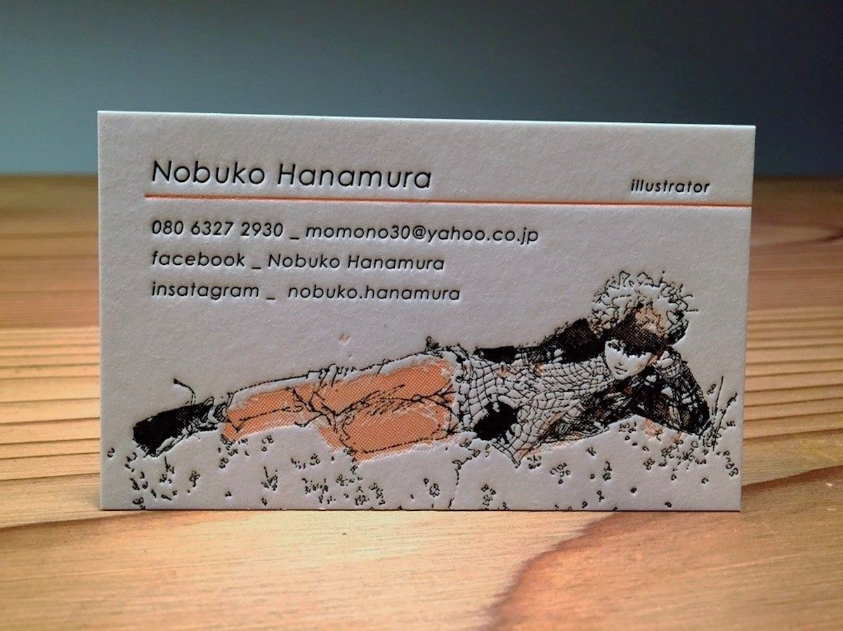 Anime/Manga-style Business Card - PaperSpecs